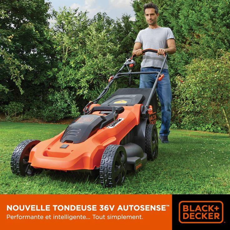 Grâce à la technologie Autosense™, notre nouvelle tondeuse 36V s'adapte à la hauteur et la densité de l'herbe et ajuste automatiquement la rotation de la lame pour une efficacité optimale et une autonomie optimisée. #Jardinage
