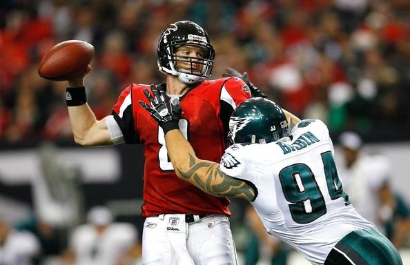 Jason Babin Photo - Philadelphia Eagles v Atlanta Falcons