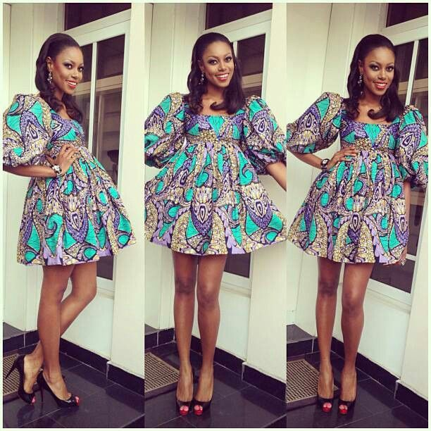 Cute short dress african fashion african fashion style ankara