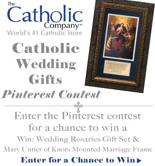 Catholic Wedding Gift For Groom : catholic wedding gift giveaway ends 5 28 2014 gift giveaway giveaway ...