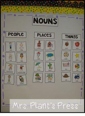 Primary Press: Fantasy and Nouns