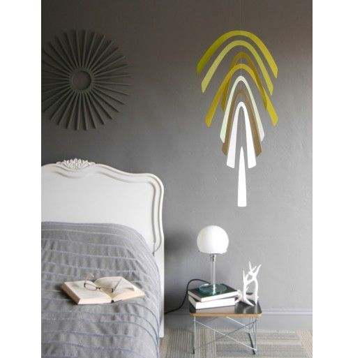 Wallter Palm Mobile in Olive