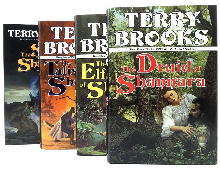 The Heritage of Shannara Books 1-4 by Terry Brooks Hardcover First Edition