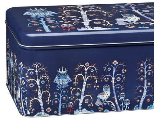 Ittalau0027s New Owl Motif Storage Tin From Taika Series