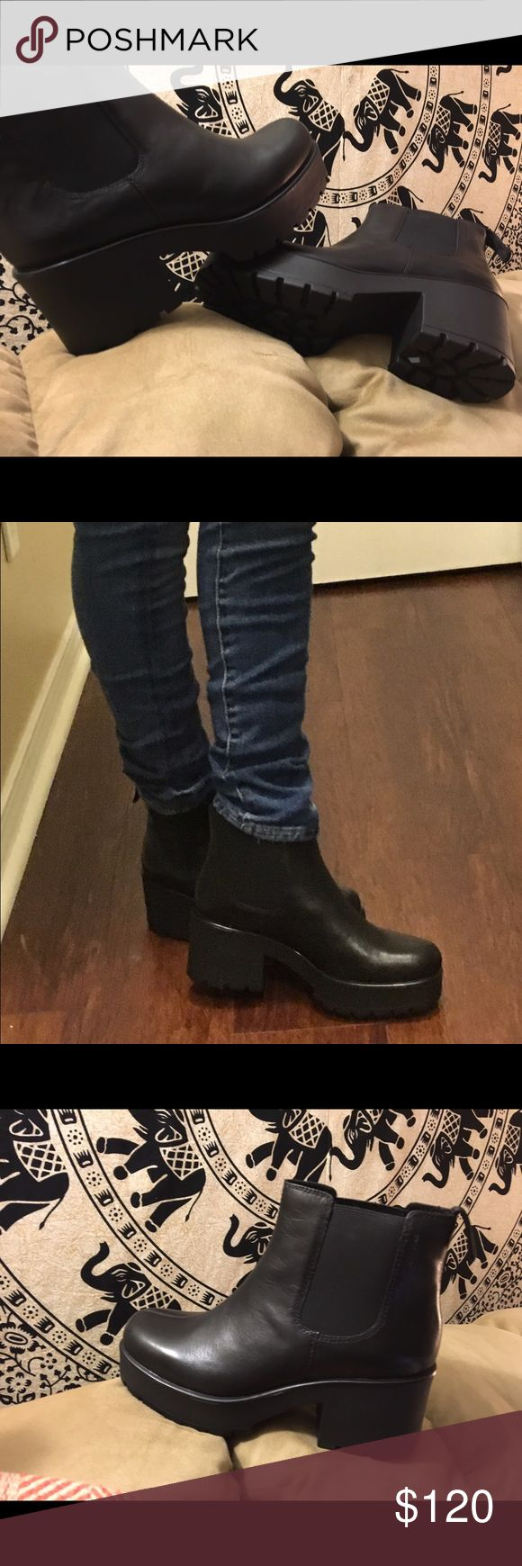 Vagabond Dioone Boots. Brand new with box! Size 39 Brand new leather Vagabond boots!! Vagabond Shoes Ankle Boots & Booties