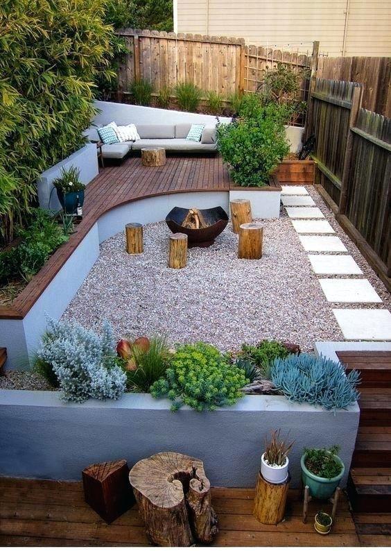 67 Wunderschöne kleine Gartenlandschaften für ein besseres Design
