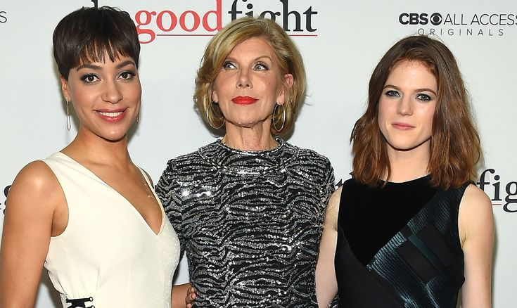 Christine Baranski & Cush Jumbo Premiere 'The Good Fight' | Bernadette Peters, Christine Baranski, Cush Jumbo, Justin Bartha, Rose Leslie : Just Jared