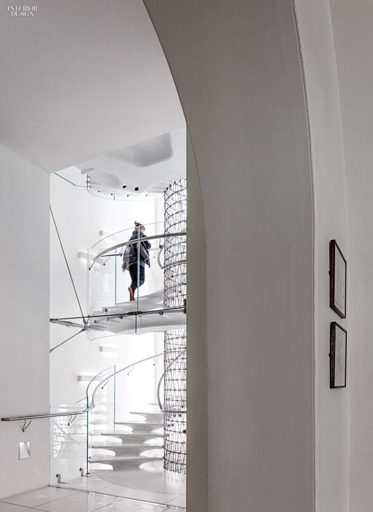 Eva Jiricna's UHPC Stairs for London's Somerset House