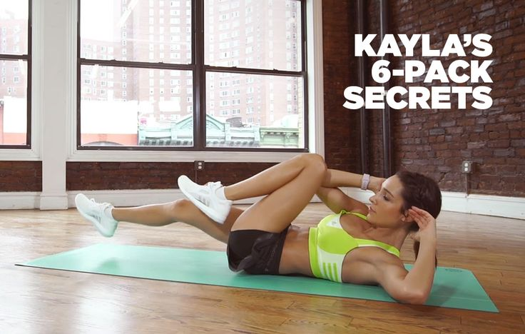 The 3-Minute Abs Workout Kayla Itsines Swears By