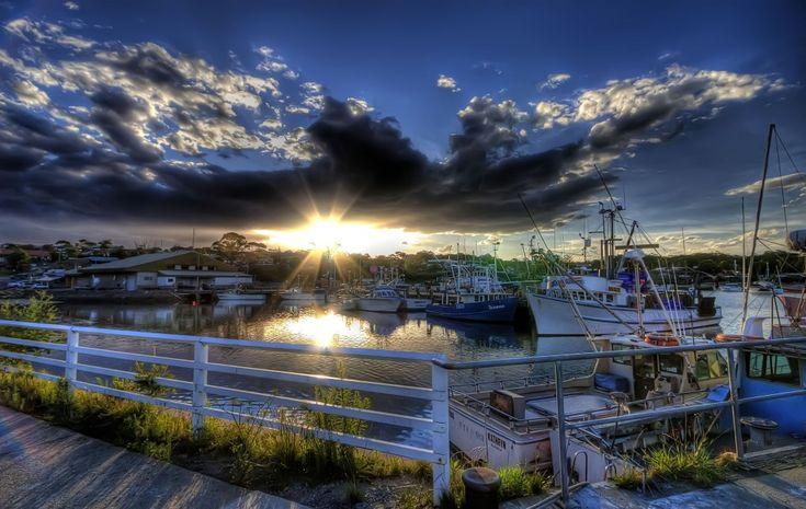 Sunset at Ulladulla Harbour jigsaw puzzle