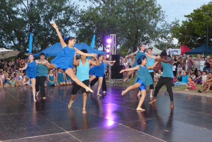 Dancers at the Seabreeze Festival 2013