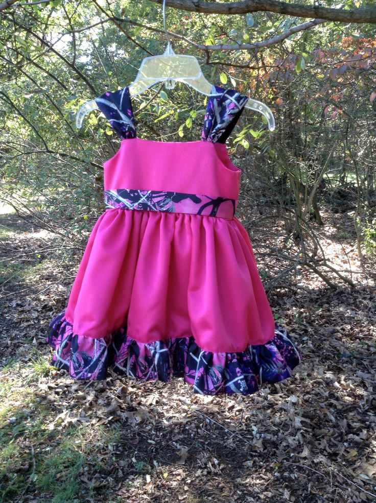 Muddy Girl Camo Flower Girl Dress by CamoGownsAndMore on Etsy