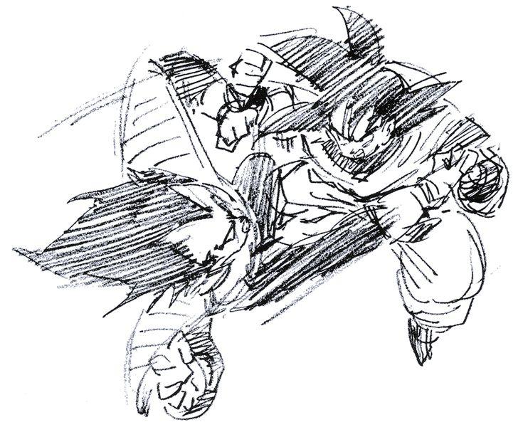 Kanzenshuu • View topic - More Toriyama rough sketches ...