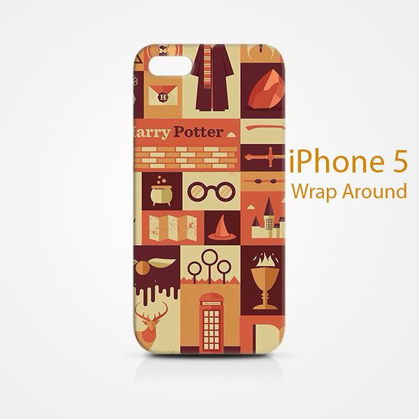 Harry Potter Collage iPhone 5 5s Case Cover Wrap Around