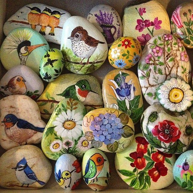 #elişi #handmade #taşboyama ##portakalcicegimoda Günaydın.... Rengarenk bir gün olsun ...:)))