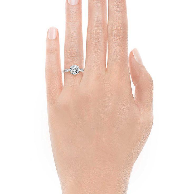 Tiffany Harmony™ com aro em cravação bead Anéis de NoivadoTiffany & Co.