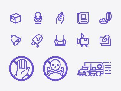 New icon sets are progressing..