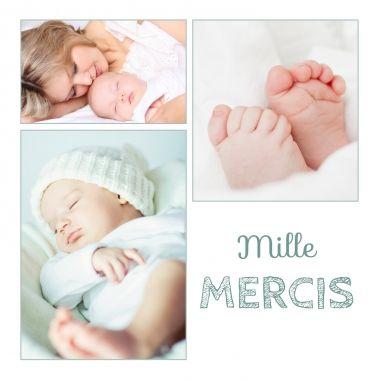 Voici une carte de remerciements qui fait parti de nos best-seller avec son trio de photos pour satisfaire vos proches.  http://www.lips.fr/impression/carte-remerciement-naissance/format-130-x-130-2p-modele.html?modele_id=521  #remerciementsnaissance #naissance #bébé