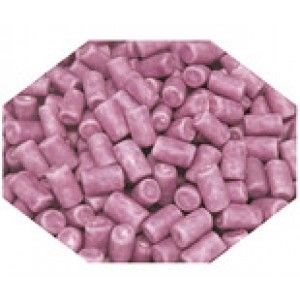 A bulk 1kg bag of purple candy coated marshmallows.