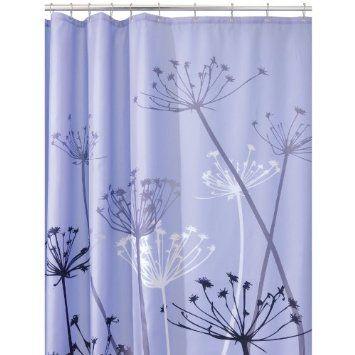 Purplish Blue Shower Curtains Purple Shower Curtain Fabric