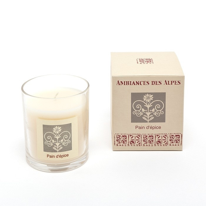 Gingerbread scented candle