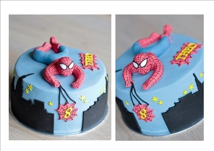 spiderman cake  Cake by Amelis