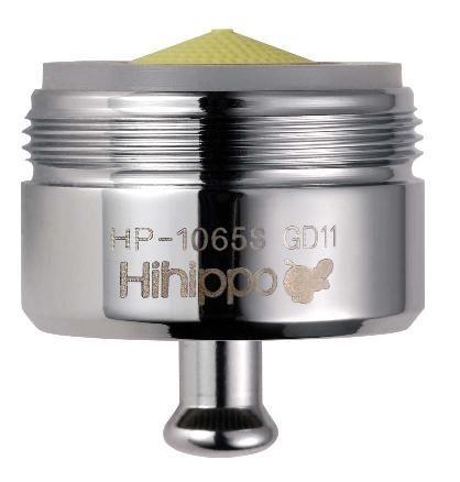 a) perlator M24x1 z zaworem start/stop one touch tap - antybakteryjny, oszczędza wodę do 84%