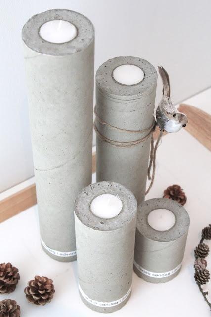 Adventsstage - lavet i plastikrør