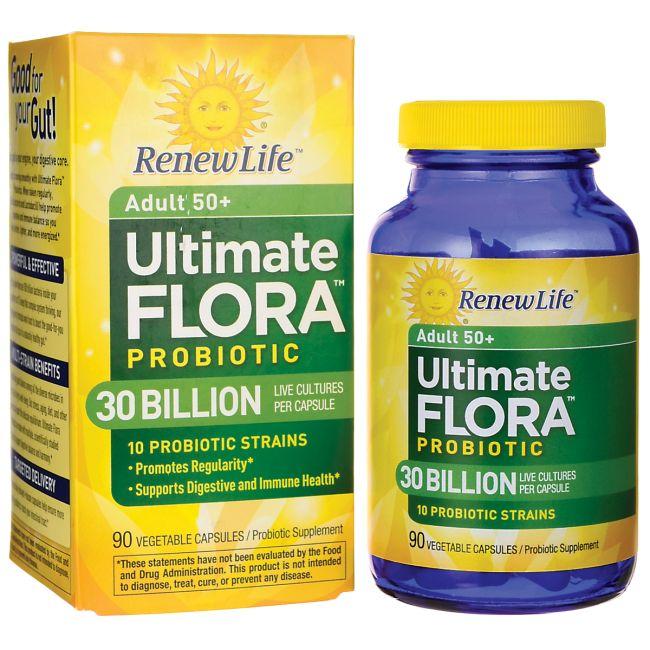 Adult 50 Ultimate Flora Probiotic  30 Billion, 90 Veg Caps AED528.00 #UAESupplements