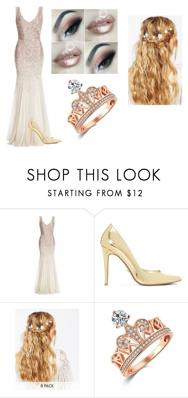 """""""Away with the roses wedding"""" by little-angle-367 on Polyvore featuring Dune and ASOS"""