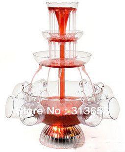 3200 мл напитков фонтан / бар фонтан / вина фонтан машина / ну вечеринку подарок / гейзеры