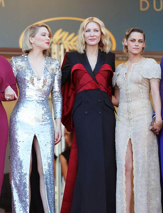 Lea Seydoux Cate Blanchett Kristen Stewart 2018 Cannes Film
