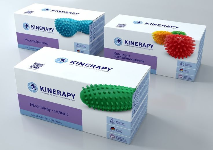 Kinerapy - Advanced Rehabilitation Techniques on Packaging of the World - Creative Package Design Gallery