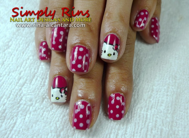 25 trending hello kitty nails ideas on pinterest kitty nails hello kitty nail art prinsesfo Gallery