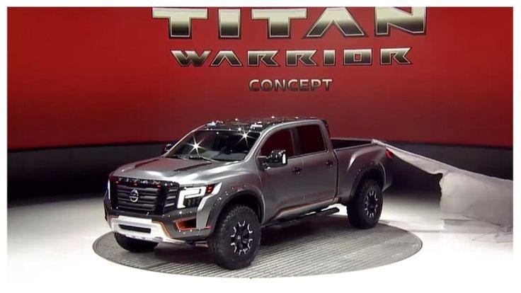 2017 nissan titan warrior concept revealed best nissan. Black Bedroom Furniture Sets. Home Design Ideas