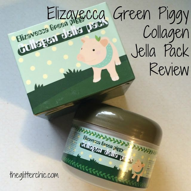 The Glitter Chic: Elizavecca GreenPiggy Collagen Jella Pack