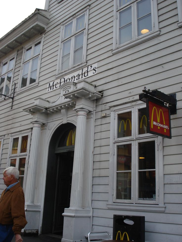 Mc Donald's in Bergen, Norway