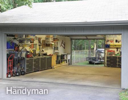 Drive thru garage