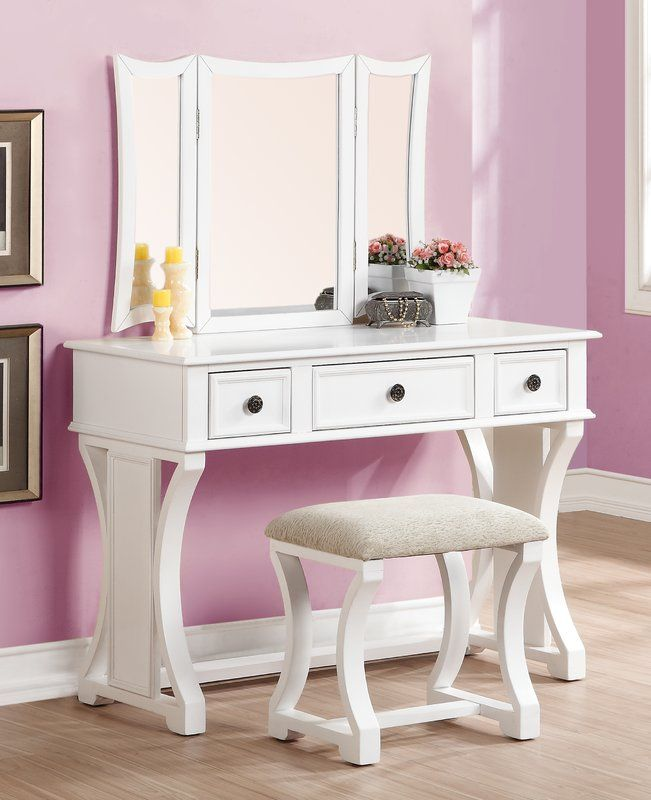 lucca vanity set with mirror in 2019 future house pinterest rh pinterest com