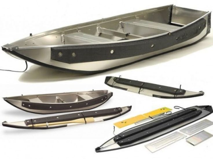 Instaboat has added a second canoe to its portable, collapsible aluminium boat range. The USD$1500 Fisherman weighs just 38 kg but offers a 245 kg carrying capacity and folds to just 16 cm wide, 3.45 metres long and 38 cm deep in two minutes.
