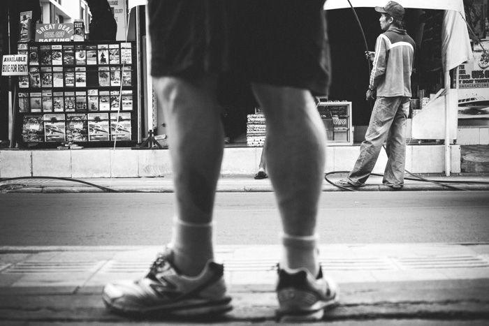 Legian street walk #blackandwhite #streetphotography