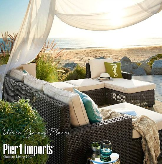 Create an outdoor space that feels like a day at the beach with these patio and porch ideas: http://beachblissliving.com/outdoor-decor-for-a-beach-style-patio-and-porch/