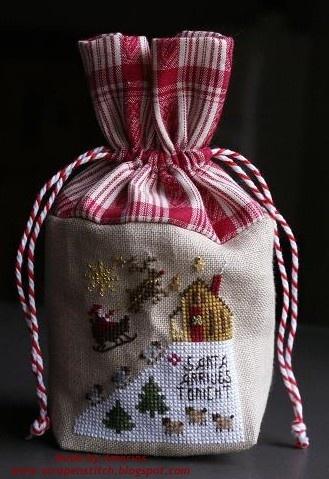 Petit sac de Noël