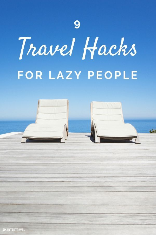 9 travel hacks for lazy people the trusty traveler travel tips rh pinterest com