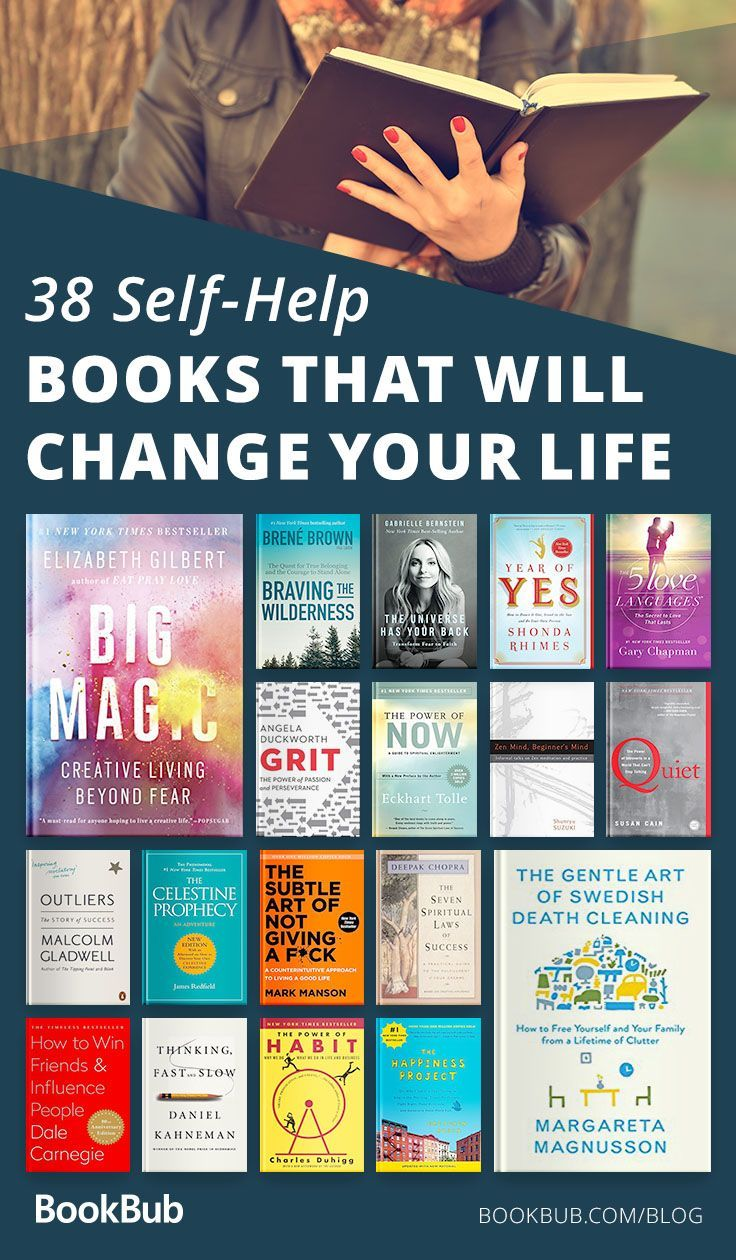 38 Self-Help Books to Give You Fresh Perspective This Year