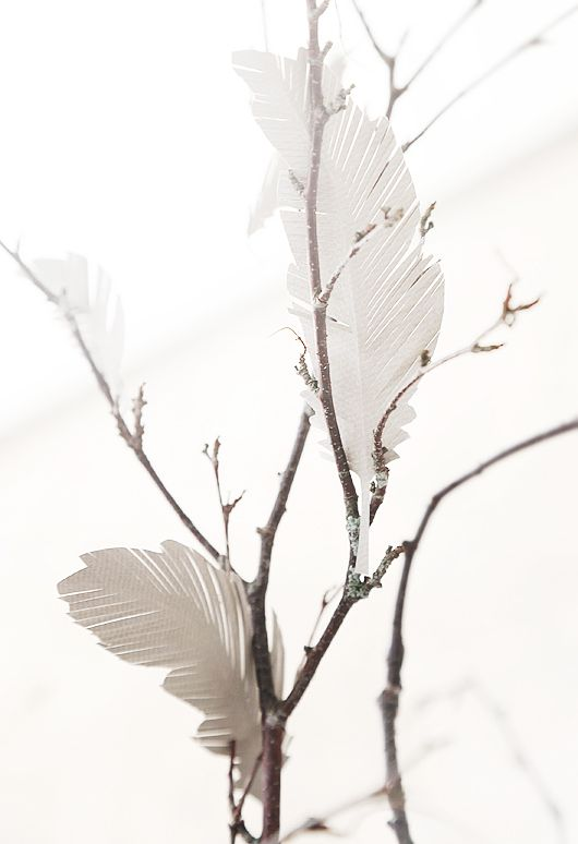 Trendenser.se - paper feathers
