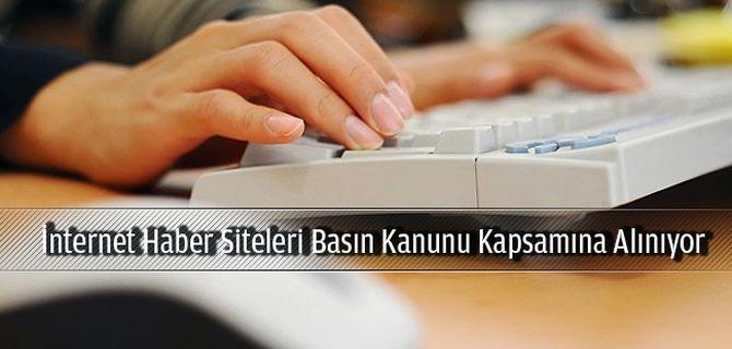 İnternet haber sitelerini Basın Kanunu kapsamına alan tasarı TBMM Adalet Komisyonu'nda kabul edildi.