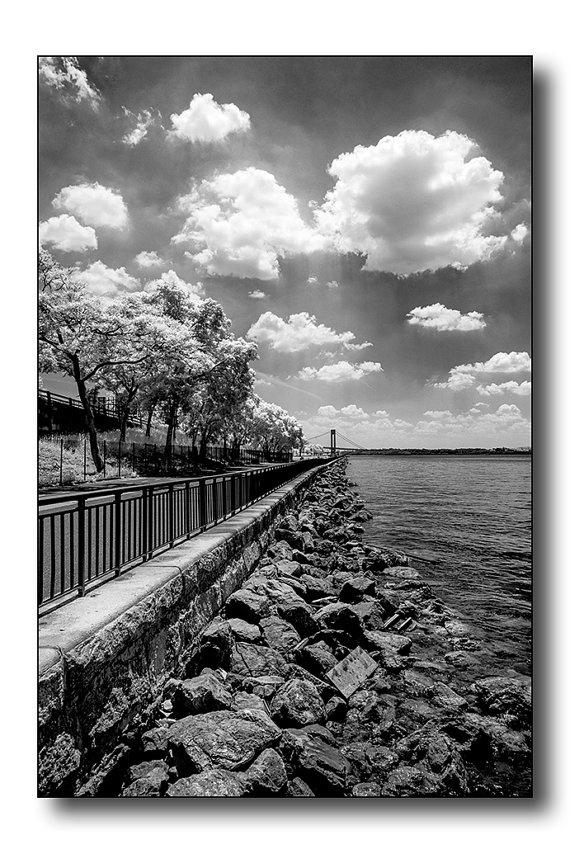 The pier in Bay Ridge