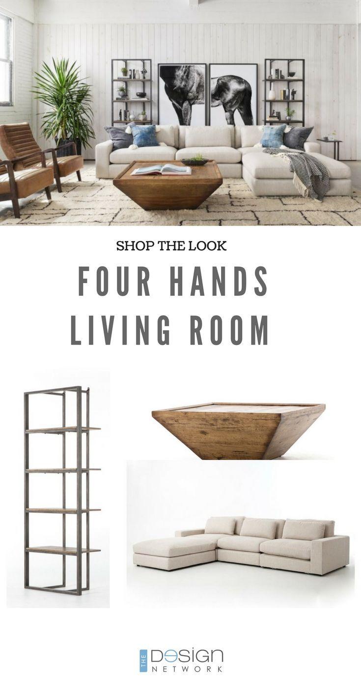 shop the look four hands living room home sweet home furniture rh pinterest com