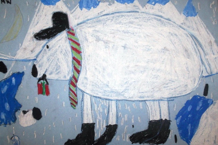 Art Room 104: Another Common Core Art Project: Polar Bears
